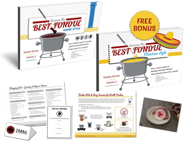 BestFondue Volume 2 and bonuses included in this offer