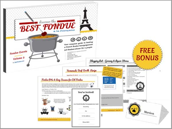 BestFondue Volume 3 and bonuses included in this offer