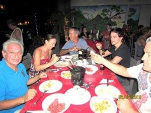 Vulcano fondue in Tamarindo